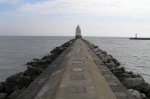 Lighthouse on pier