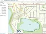 GPS track around Kendrick Reservoir