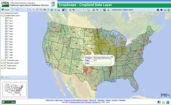 Cropscape Agricultural Portal