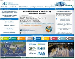 The Group on Earth Observations (GEO) is leading the development of the Global Earth Observation System of Systems (GEOSS)