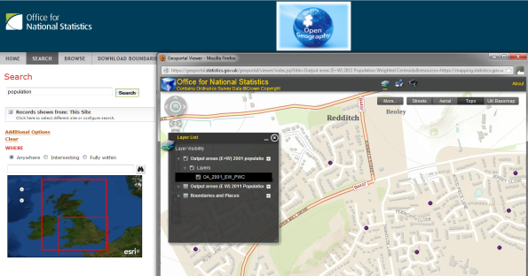 ONS Geography Portal