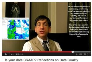 "Is your data ""CRAAP""?  Video."