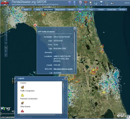 Florida's GATOR disaster assessment tool