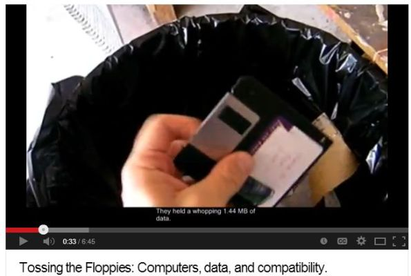 Tossing the Floppies: Reflections on Access and Data Formats