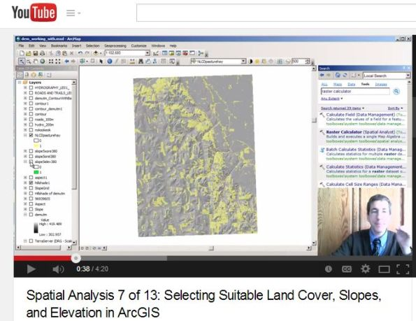 New Spatial Analyst videos explain how to make decisions with GIS.
