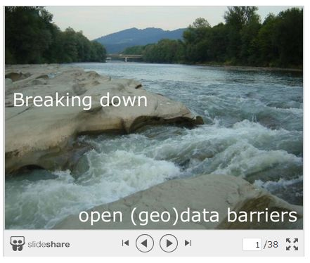 Breaking down open (geo)data barriers