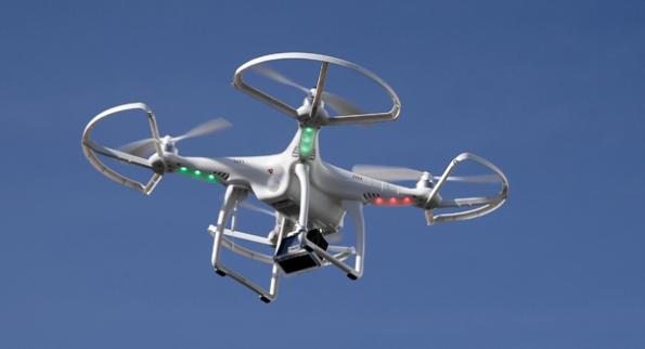 Drone. AP Photo/Jae C. Hong