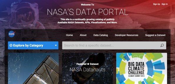 NASA Data Portal