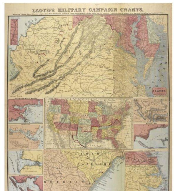 American Civil War Maps