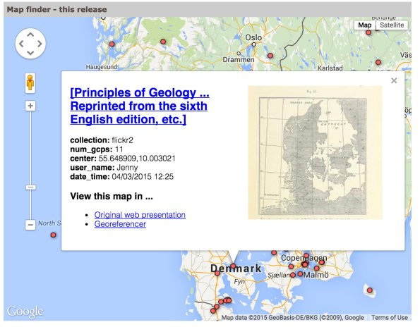 Georeferencer Project