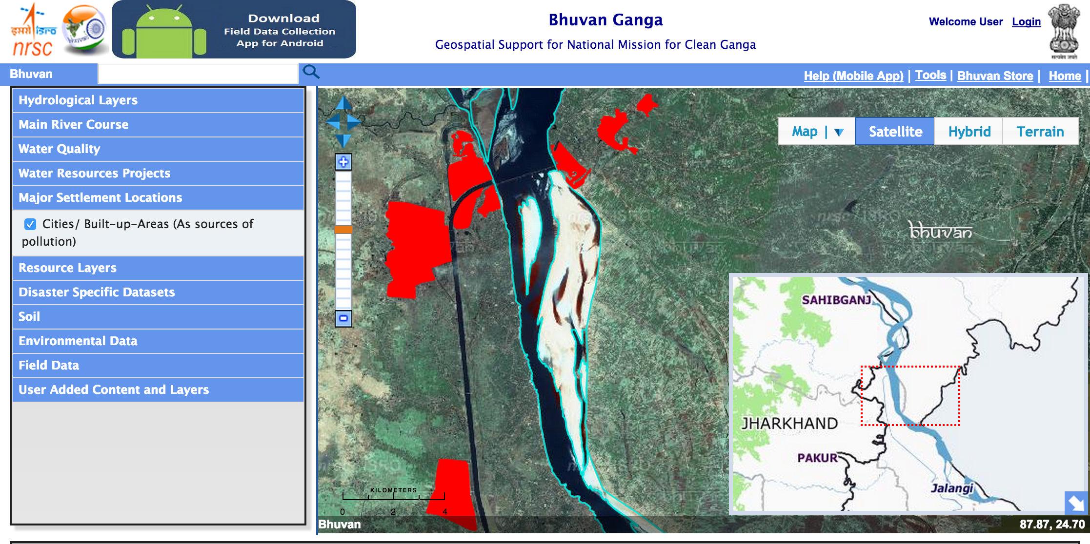 River Ganga Web Portal