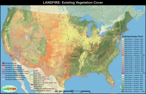 LANDFIRE data and project from The Nature Conservancy