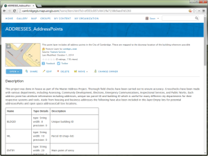 Metadata in ArcGIS Online