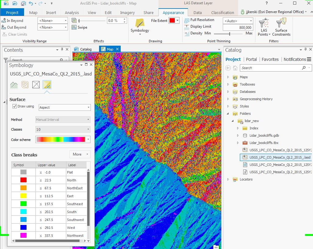 Accessing and Using Lidar Data from The National Map